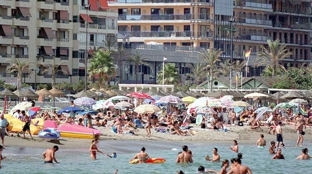 Apartamentos junto a una playa de Valencia