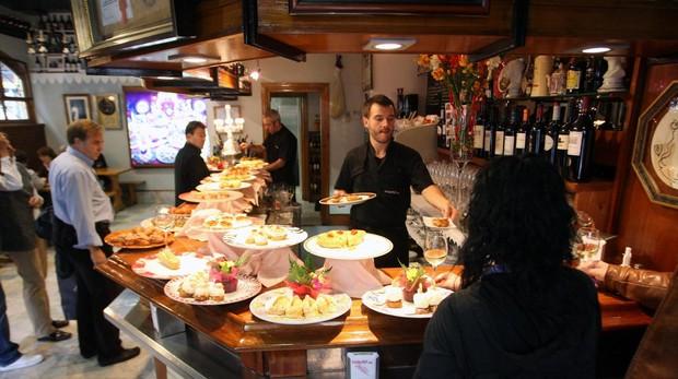 Bar Bergara, en San Sebastián